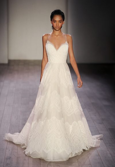 Classic A-line Wedding Dress by Jim Hjelm