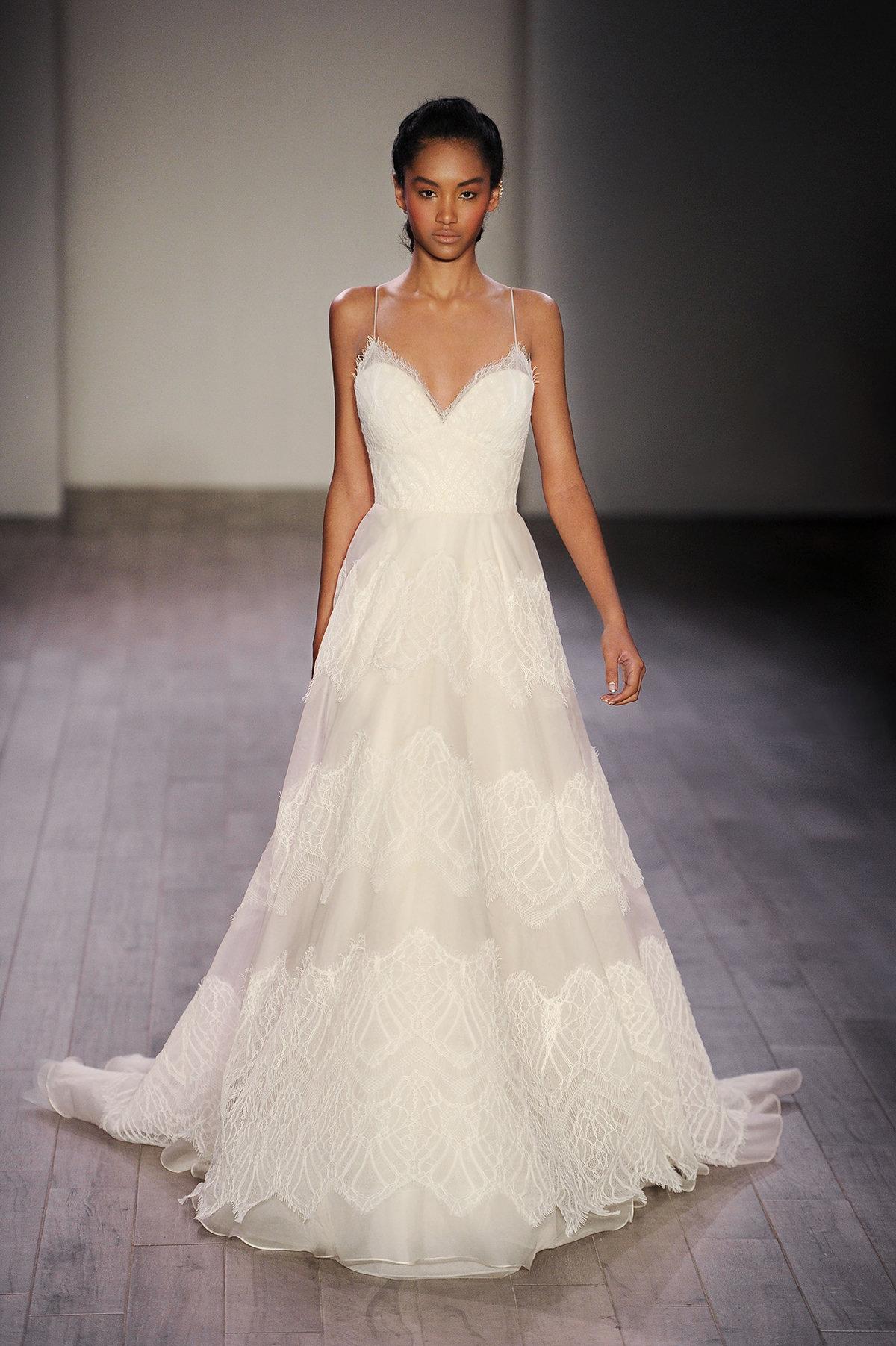 Classic A-line Wedding Dress   Kleinfeld Bridal