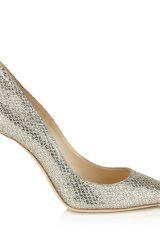 Silver High Heel Shoe by Jimmy Choo - Image 1