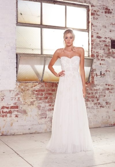 A-Line Wedding Dress by Karen Willis Holmes