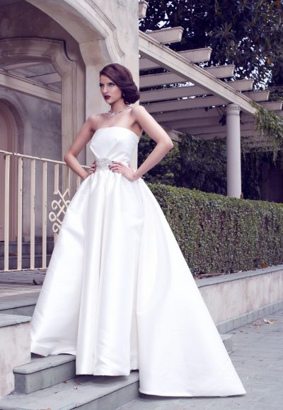 Ball Gown Wedding Dress by Karen Willis Holmes