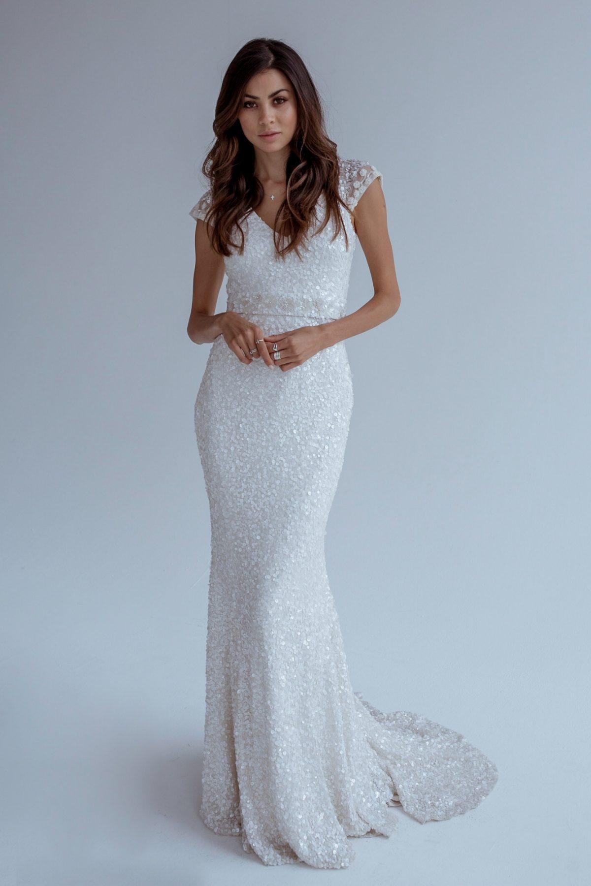 Trendy Sheath Wedding Dress   Kleinfeld Bridal