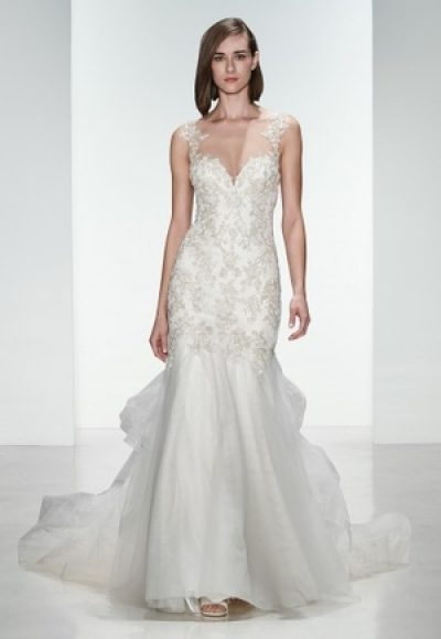 Fit And Flare Wedding Dress by Kenneth Pool