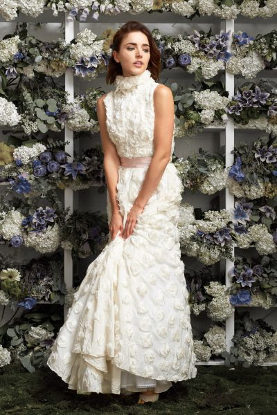 A-Line Wedding Dress by Lakum - Image 1