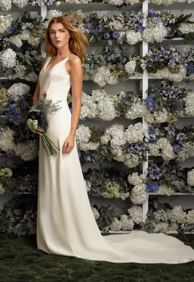 Sheath Wedding Dress by Lakum