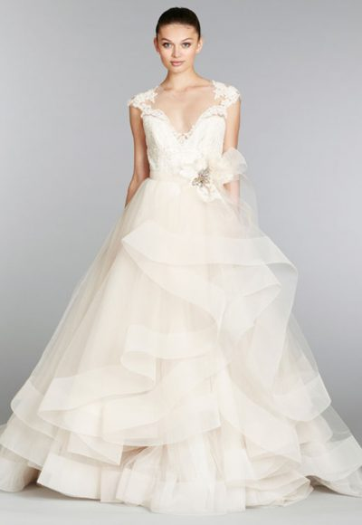 Ball Gown Wedding Dress by Lazaro