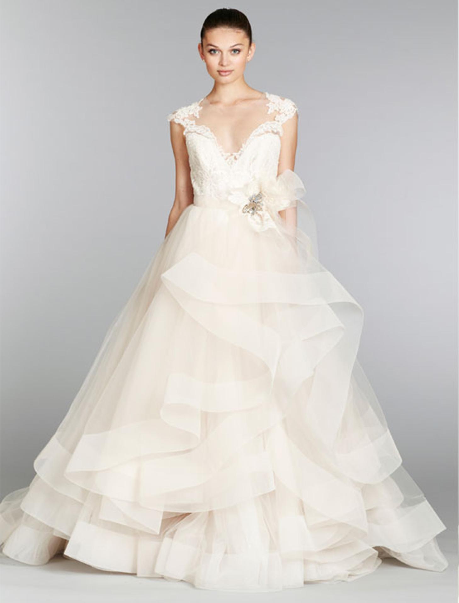 Ball gown wedding dress kleinfeld bridal for Kleinfeld wedding dress designers
