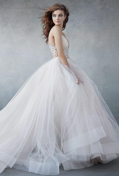 Ball Gown Wedding Dress by Lazaro - Image 1