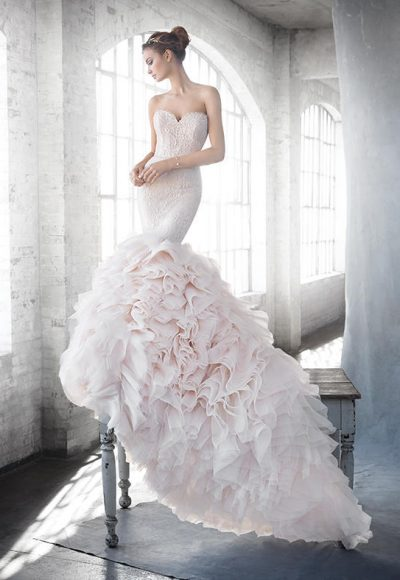 Mermaid Wedding Dress by Lazaro