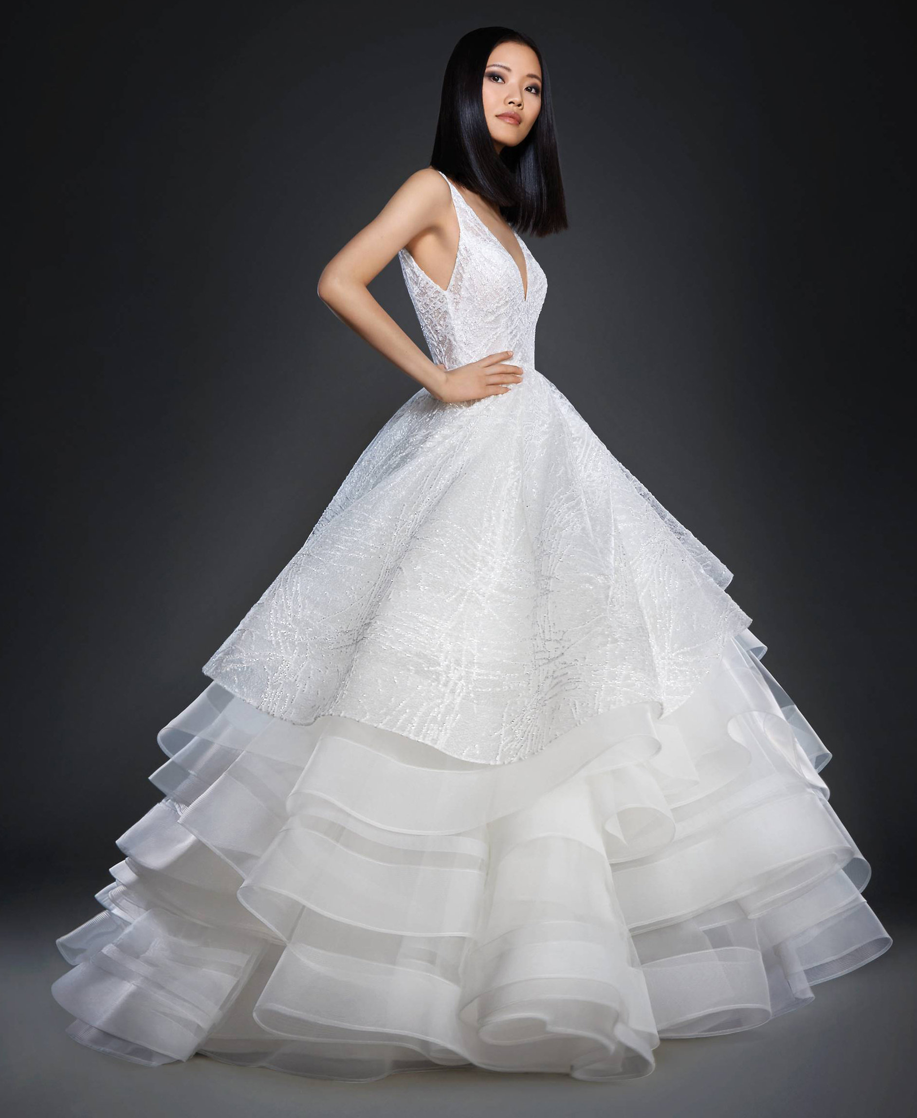 Romantic Ball Gown Wedding Dress