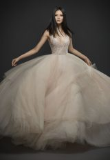 Romantic Ball Gown Wedding Dress by Lazaro - Image 1