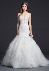 Romantic Mermaid Wedding Dress by Lazaro - Image 1