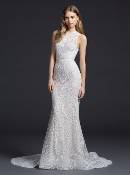 Sexy Fit And Flare Wedding Dress by Lazaro - Image 1