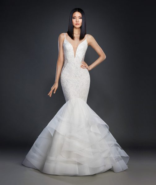 Sexy Mermaid Wedding Dress by Lazaro - Image 1