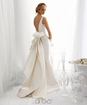 Fit And Flare Wedding Dress by Le Spose Di Gio - Image 1