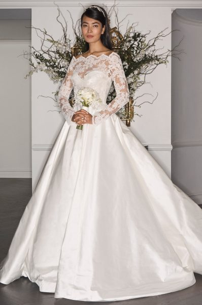 A-Line Wedding Dress by LEGENDS Romona Keveza - Image 1