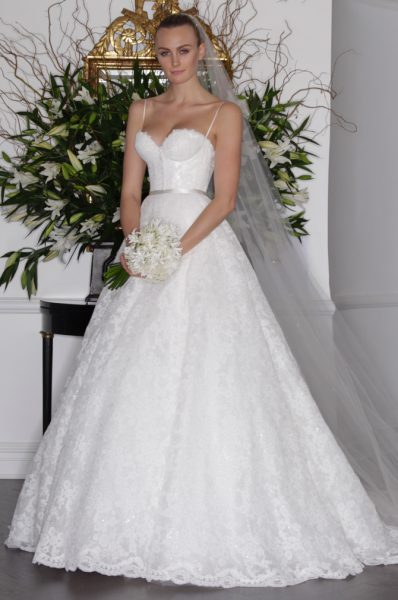 Ball Gown Wedding Dress by LEGENDS by Romona Keveza - Image 1