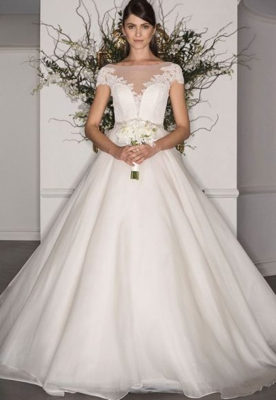 Ball Gown Wedding Dress by LEGENDS Romona Keveza