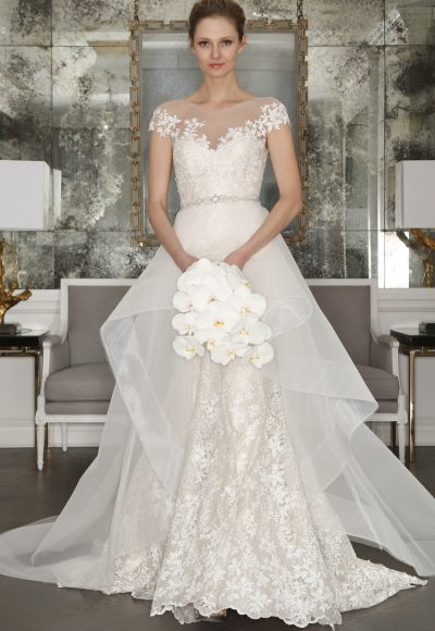 Classic Ball Gown Wedding Dress by Romona Keveza Collection