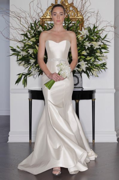 Fit And Flare Wedding Dress by LEGENDS Romona Keveza - Image 1
