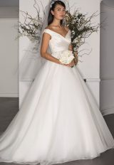 Fit And Flare Wedding Dress by LEGENDS by Romona Keveza - Image 1