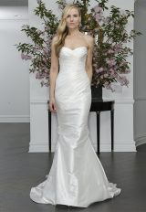 Simple Fit And Flare Wedding Dress by LEGENDS Romona Keveza - Image 1