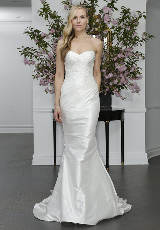 Simple Fit And Flare Wedding Dress | Kleinfeld Bridal