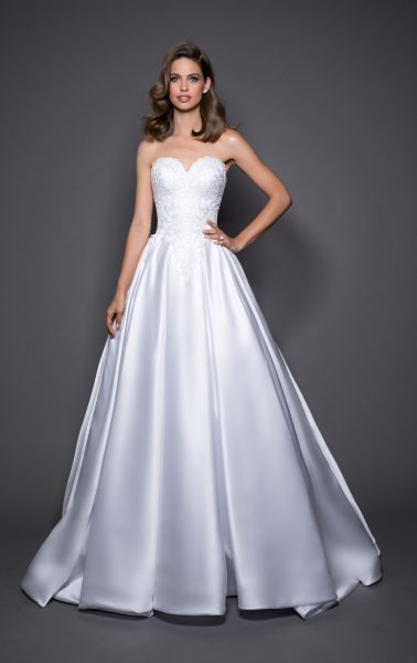 Classic Ball Gown Wedding Dress by Love by Pnina Tornai - Image 1