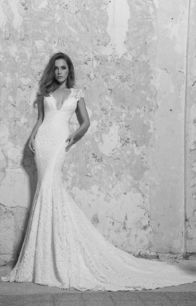 Classic Fit And Flare Wedding Dress By Love Pnina Tornai