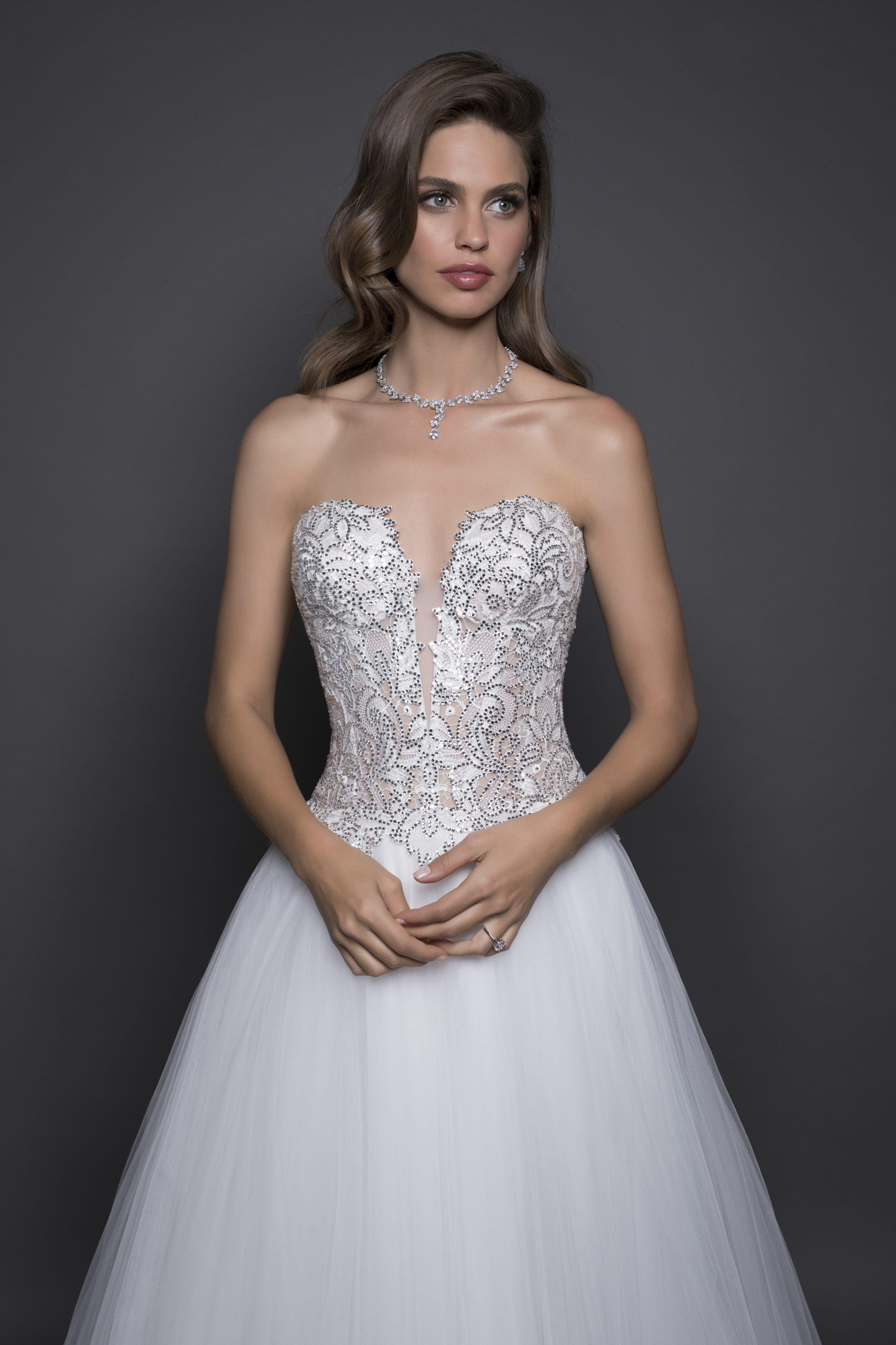 Sophia Moncelli for Kleinfeld Wedding, Cap Sleeve Beaded ...   Kleinfeld Bridal Wedding Dresses