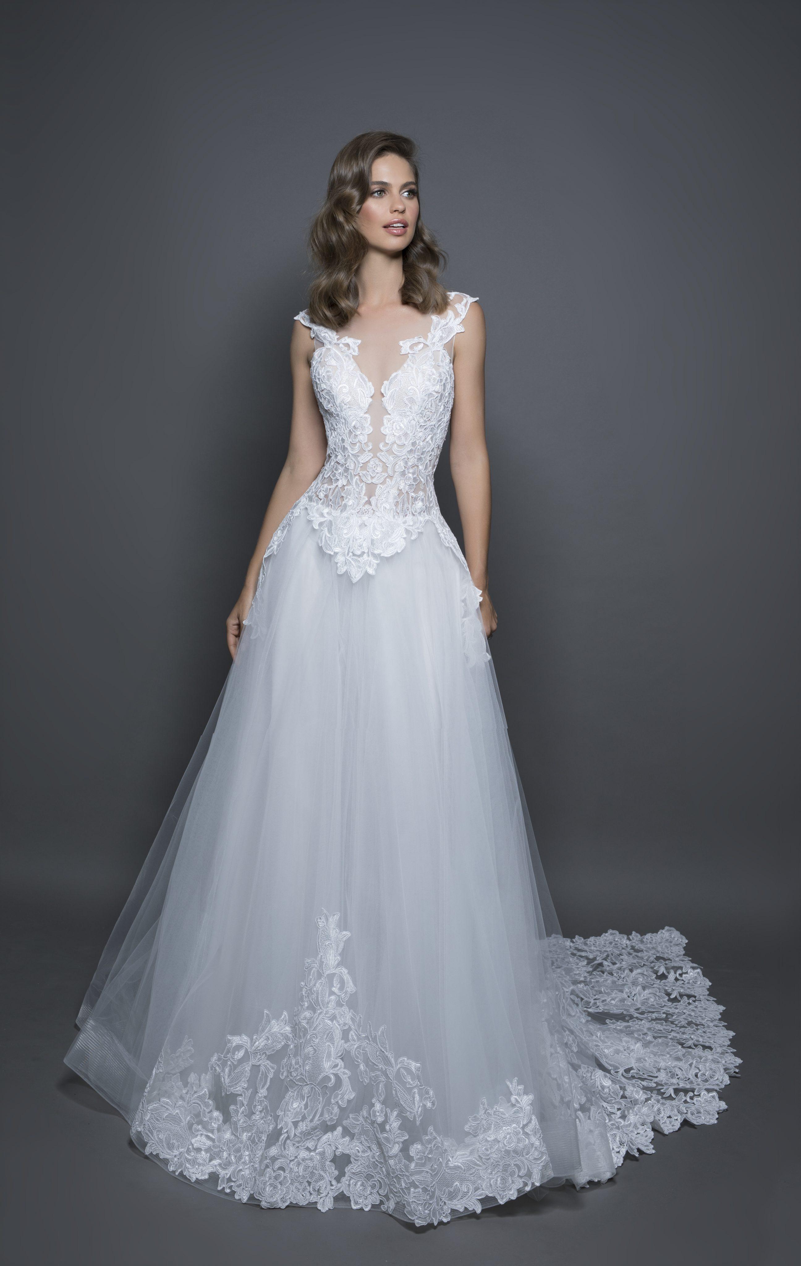 Modern Ball Gown Wedding Dress | Kleinfeld Bridal