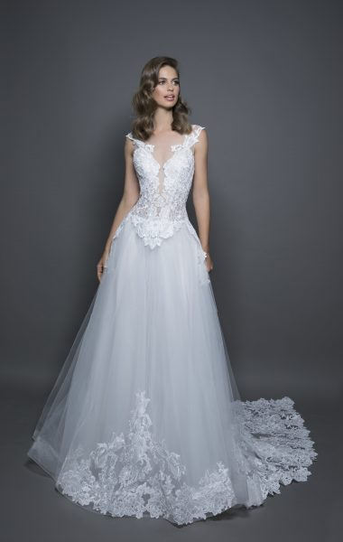 Modern Ball Gown Wedding Dress | Kleinfeld Bridal