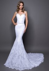 Romantic Mermaid Wedding Dress by Love by Pnina Tornai - Image 1