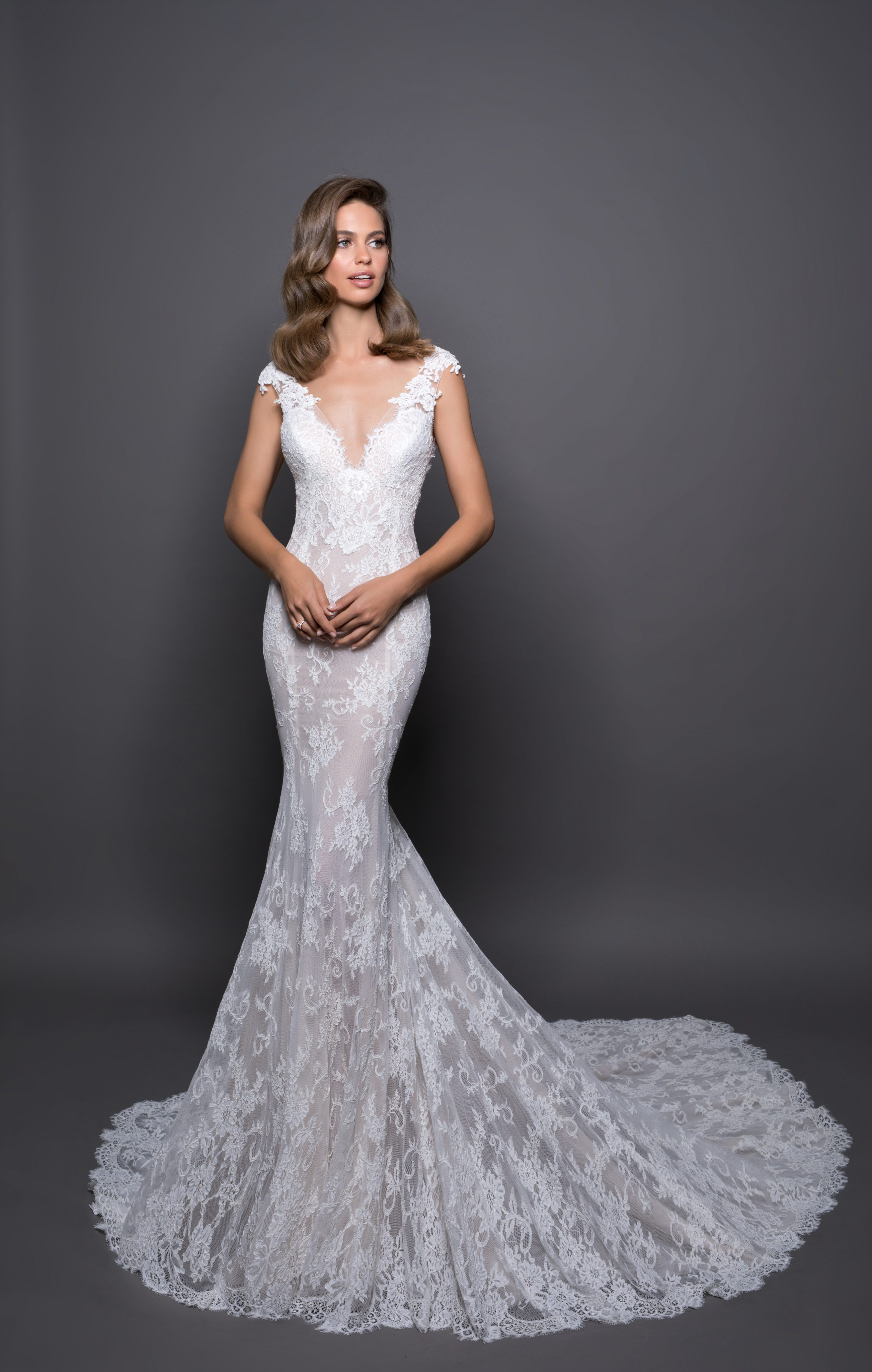 Romantic Sheath Wedding Dress Kleinfeld Bridal