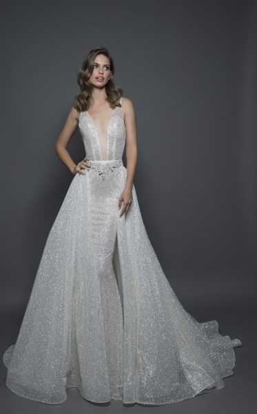 Sexy Sheath Wedding Dress by Love by Pnina Tornai - Image 2