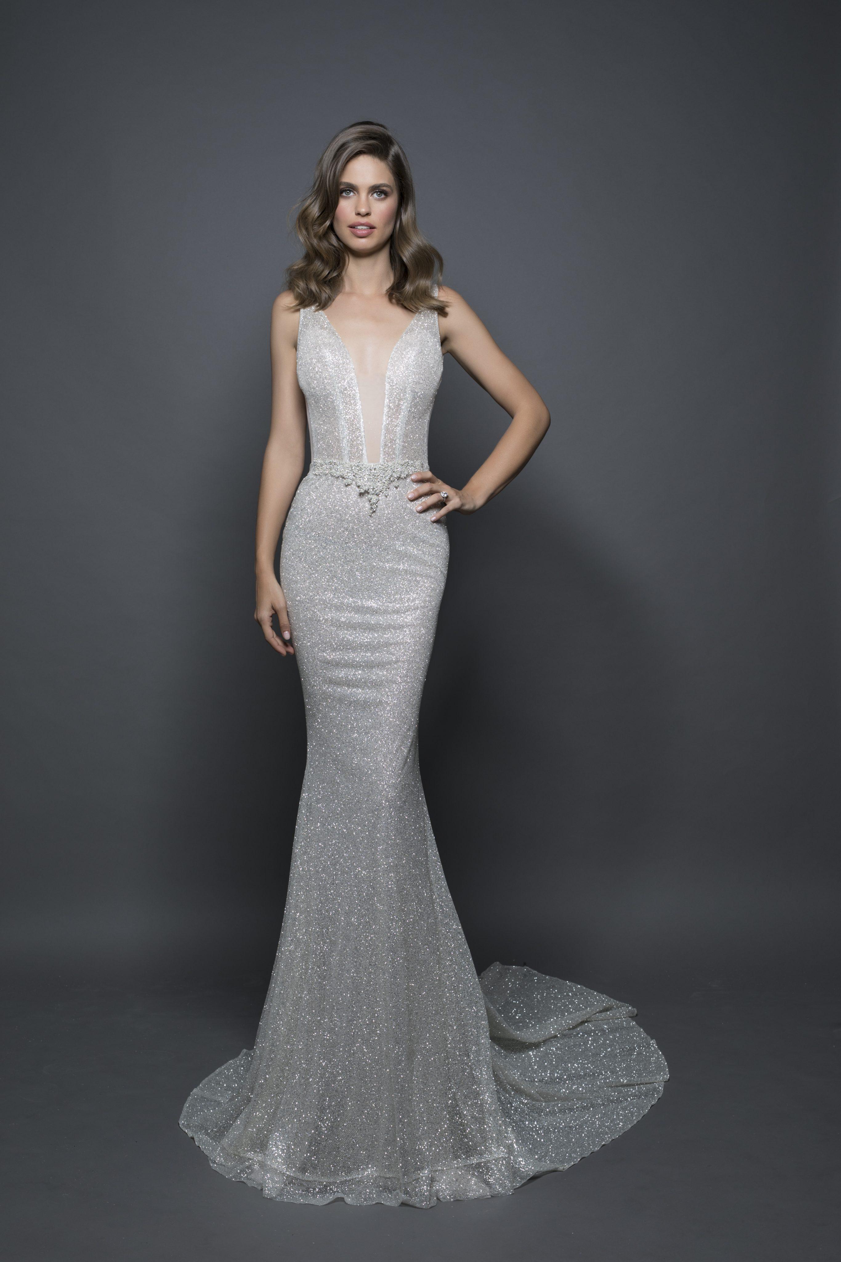 Sexy Sheath Wedding Dress