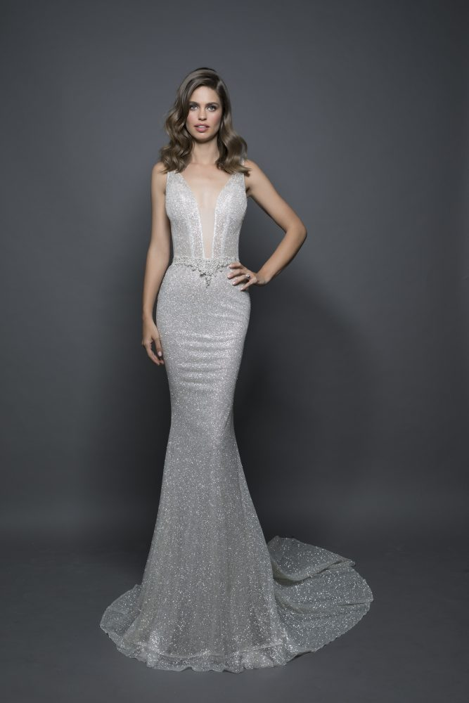 Sexy Sheath Wedding Dress by Love by Pnina Tornai - Image 1