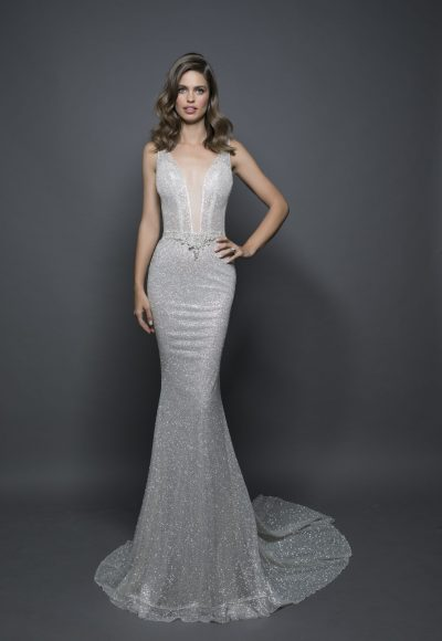 Sexy Sheath Wedding Dress by Love by Pnina Tornai