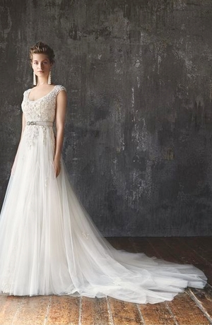 A-Line Wedding Dress by Lusan Mandongus - Image 1