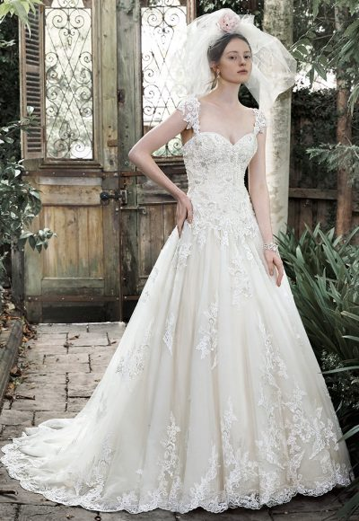 A-Line Wedding Dress by Maggie Sottero