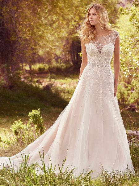 A Line Wedding Dress By Maggie Sottero Image 1