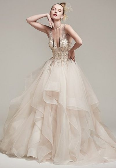 Ball Gown Wedding Dress by Sottero and Midgley