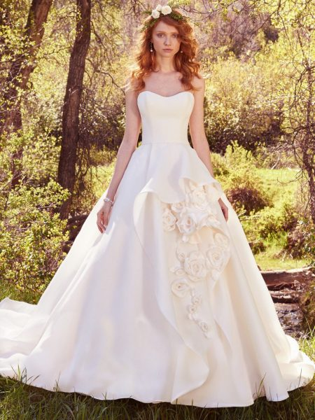 626c2295a3c Ball Gown Wedding Dress by Maggie Sottero - Image 1