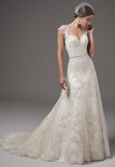 Classic A-line Wedding Dress by Sottero and Midgley