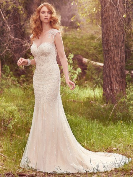 Classic A-line Wedding Dress by Maggie Sottero - Image 1