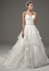 Classic Ball Gown Wedding Dress by Sottero and Midgley - Image 1