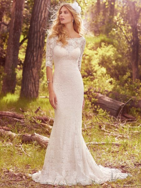 Classic Fit And Flare Wedding Dress by Maggie Sottero - Image 1