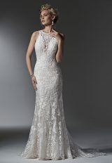 Classic Sheath Wedding Dress by Sottero and Midgley - Image 1