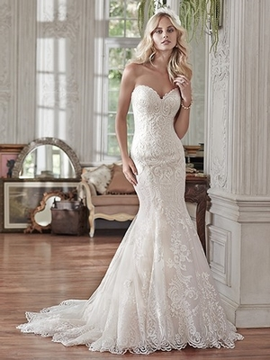 Fit And Flare Wedding Dress by Maggie Sottero - Image 1