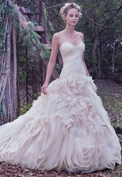 Fit And Flare Wedding Dress by Maggie Sottero